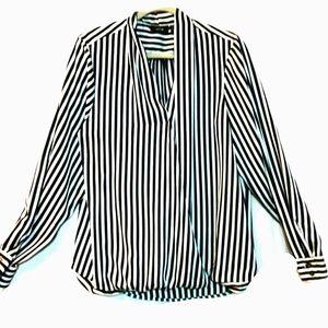 Apt 9 Top Striped Kimono Style Blouse  sz 1X